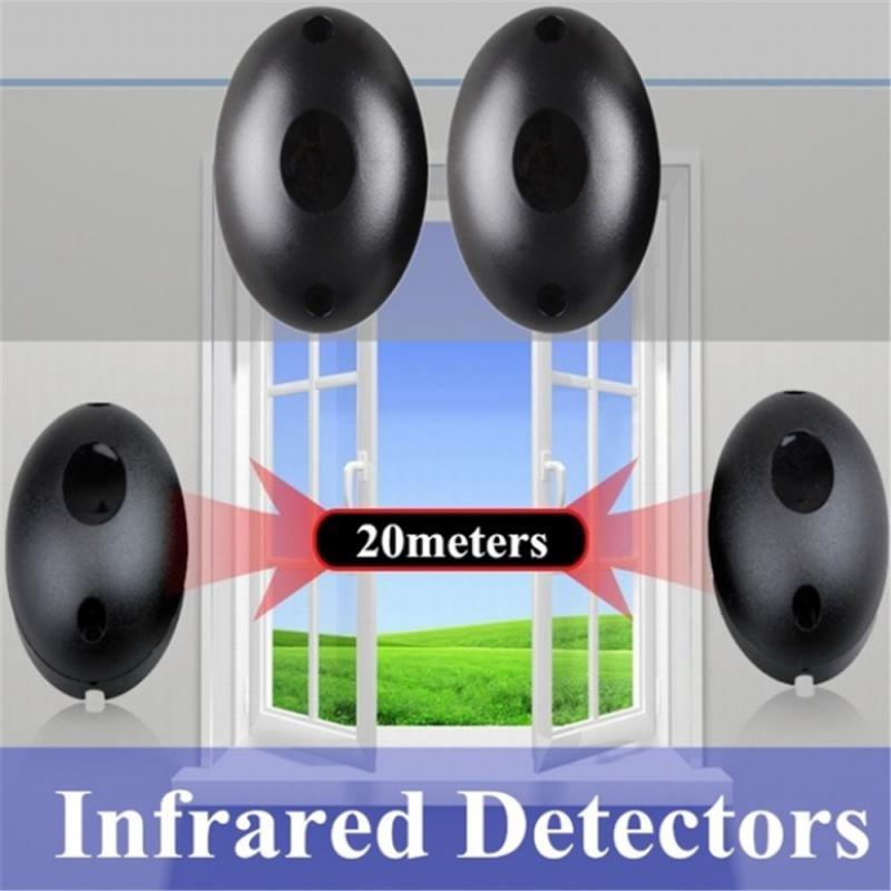 1 пара, инфракрасные Фотоэлементы для безопасности дверей, 20 м