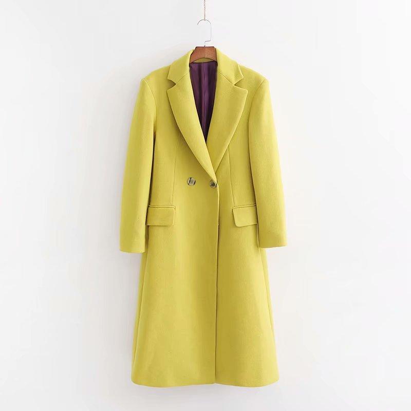 Abrigo con botón para parabrisas de moda europea y americana de XD98-2566