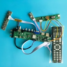 HSD100IFW1-A04 용 1024X600 TV VGA USB AV RF LCD DVB-T2 HDMI DVB-T DVB-Cpanel 1 드라이버 램프 제어 30 핀 보드