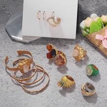 Miwens 2020 nouveau Za pierre anneaux pour femme Maxi coloré strass spécial anneaux Boho fruits ananas doigt anneaux cadeau de vacances