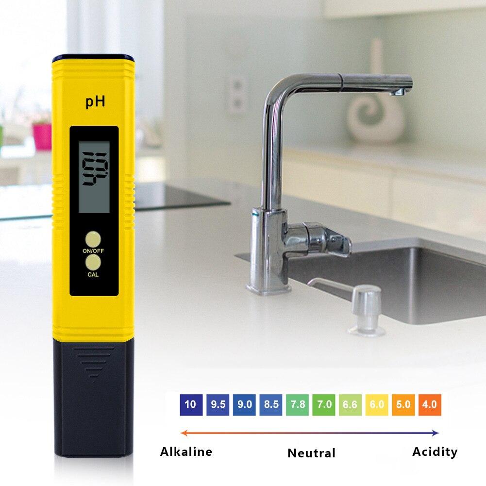 Portable PH Tester Accuracy 0.01 Digital PH Meter Tester for Water Aquarium Pool Hydroponics PH Monitor недорого