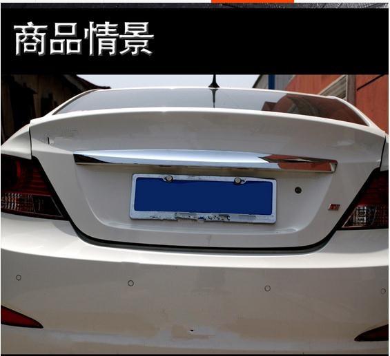 ABS Chrome Rear Trunk Lid Cover Trim For 2010-2016 Hyundai VERNA/Solaris 4dr