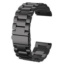 24mm edelstahl Männer Frauen uhr Band Armband Strap Armband für Kospet Hoffen/Optimus Pro/Brave Smart uhr Telefon