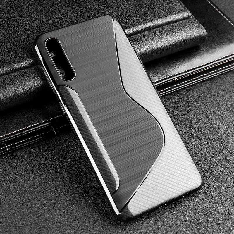 S10 5G caso para Samsung Nota 10 Plus silicona caso A20e A30 A40 A60 A70 S10e S9 S8 J4 J3 J5 2017 M10 M20 M30 A7 2018 A50 casos