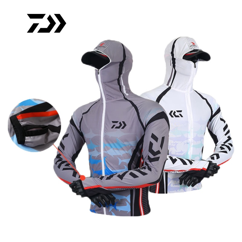 aliexpress.com - DAIWA Fishing clothes S-6XL Tops Shirt Jacket quickdry Anti-UV sunscreen Jersey long-sleeve suits lure