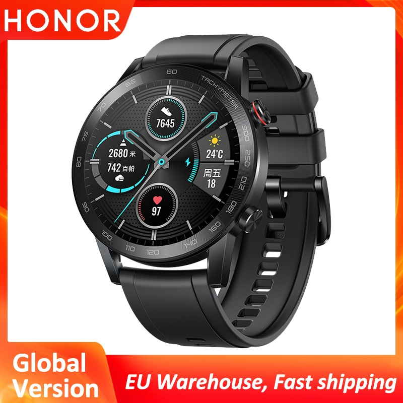 Honor Magic Watch 2 Smart Watch Bluetooth 5.1 Heart Rate 14 Days Phone Call Waterproof Global Versio