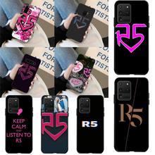 CUTEWANAN Ross Lynch R5 Pop rock Band Logo Custom Foto Weiche Telefon Fall für Samsung S20 plus Ultra S6 S7 rand S8 S9 plus S10 5G
