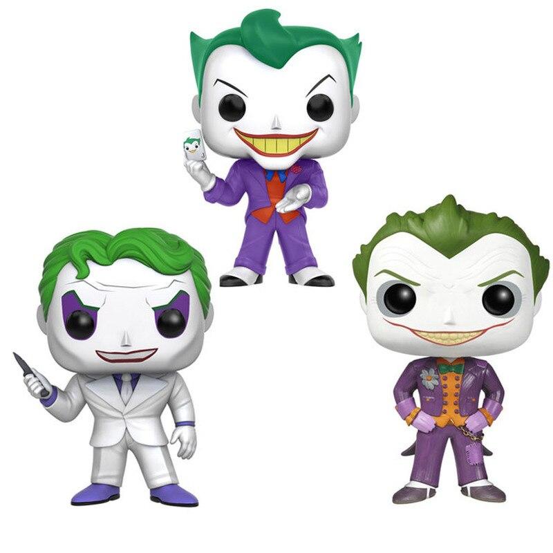Original funko pop batman o joker vinil pop brinquedos ação & brinquedo figuras collectible modelo de brinquedo para crianças