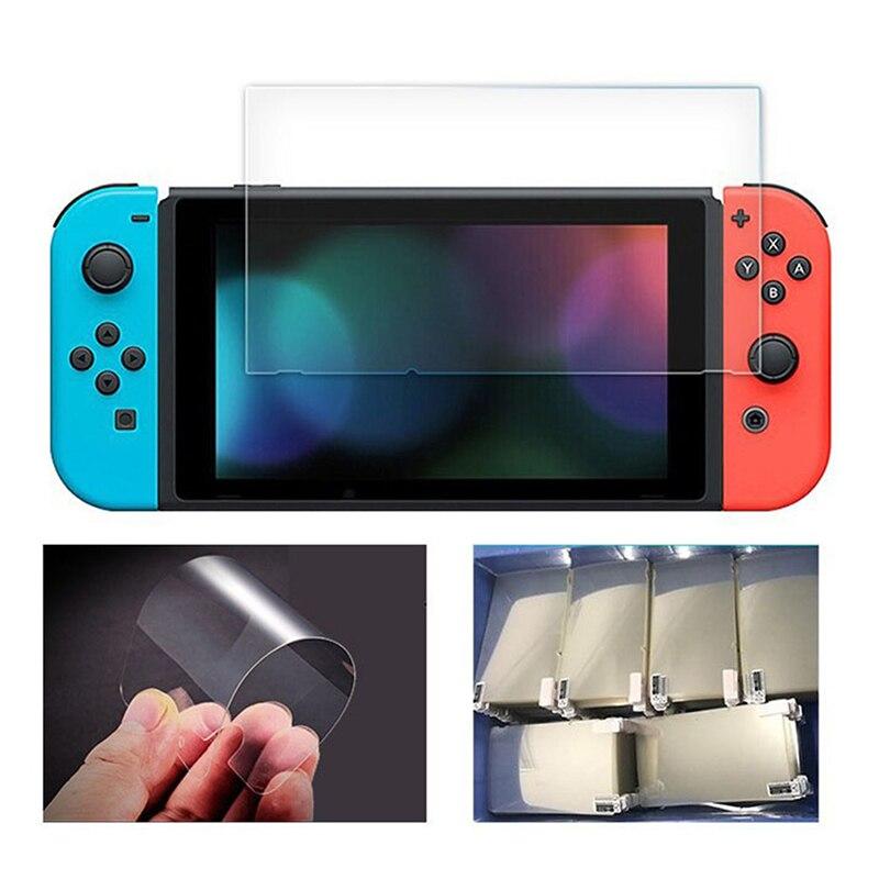 Película protectora de vidrio templado para Protector de pantalla Nintendos Switch NS...