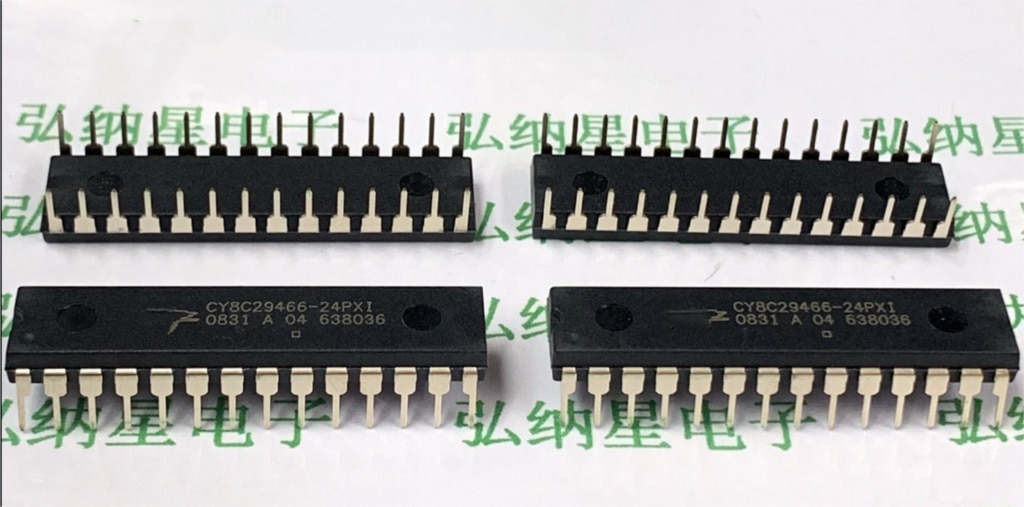 1-5 stücke Neue CY8C29466-24PXI DIP-28 mikrocontroller chip