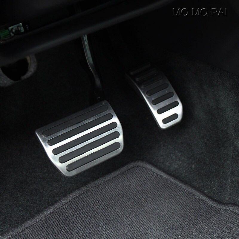 Nenhuma broca de alumínio combustível freio esporte pedal almofada para volvo s60 s80 v60 xc60 no carro automático