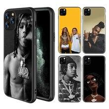 Ynw Melly Scarlxrd Fällen für Apple iPhone 11 Pro X XS MAX XR 7 8 6 6S Plus 5 5S SE Schwarz Silikon Sac Telefon Coque Abdeckung