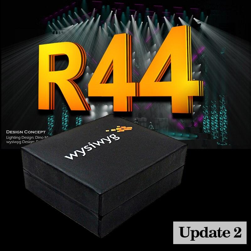 WYSIWYG выпуск 44 DJ светильник MA2 командное крыло движущаяся головка dmx контроллер WYSIWYG R44 выполнение ключа