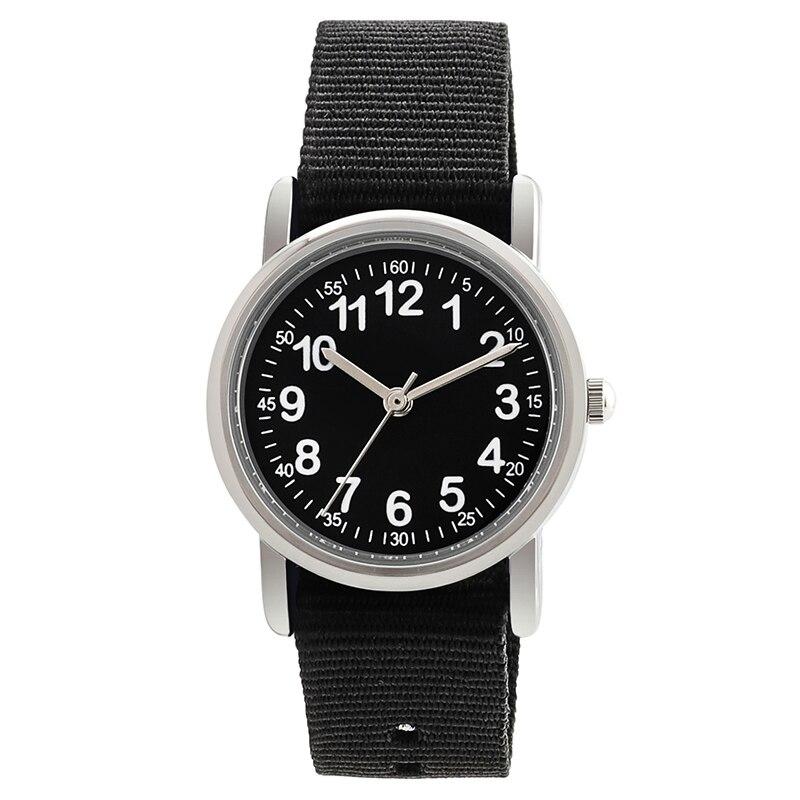 Детские наручные часы с нейлоновыми ремешками, Детские Кварцевые часы, милые детские часы, детские часы для студентов