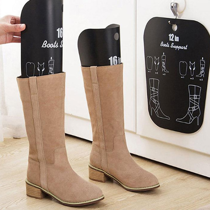1PCS Black Boots Boot Shaper Stands Form Inserts Tall Boot Support Keep Boots Tube Shape For Women And Men