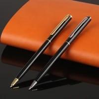 1pc metal ballpoint pen rotating metal money clip ballpoint pen high quality luxury school roller pen office stationery