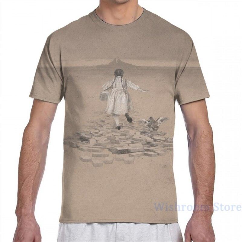 Dorothy retorna a oz camiseta masculina feminina por todo o lado impressão moda menina t camisa menino topos camisetas de manga curta