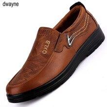 2019 nouvelle marque haut de gamme hommes chaussures décontractées chaussures en cuir de mode pour hommes chaussures plates dété hommes livraison directe yuj89