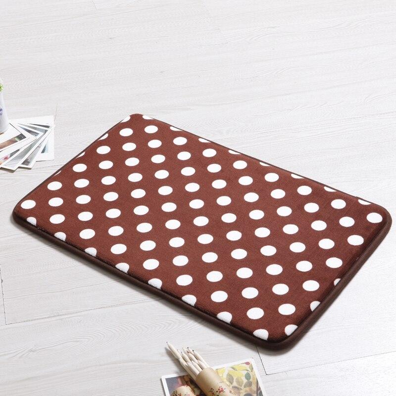 Alfombra suave para piso de cocina alfombra de puntos para felpudo doméstico para sala de estar alfombra de baño de absorción de agua Tapete Banheiro