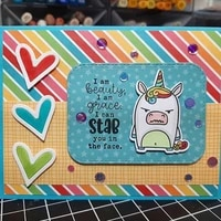 unicorn beauty metal cutting dies coordinating stamp for scrapbooking craft embossing stencil die cut card making