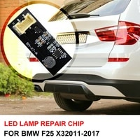 new rear led light repair replacement board led tail light led chip for bmw x3 f25 2011 2017 b003809 2