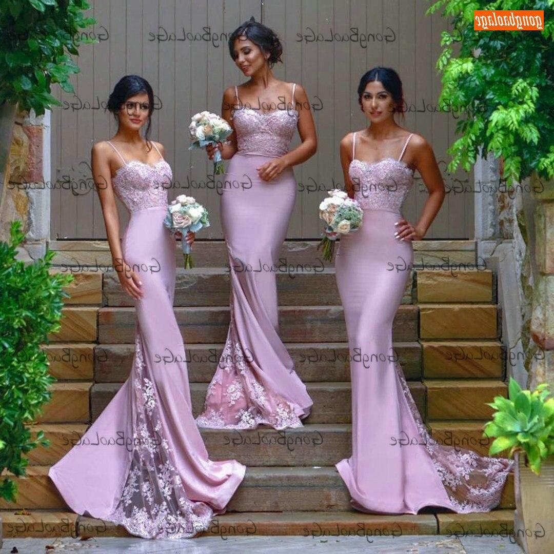 Sexy sirena vestidos De graduación 2021 De novia De apliques De encaje...