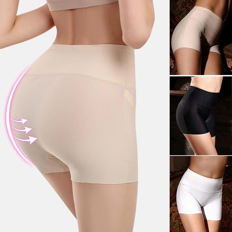 Nova mulher softshort calças de cintura alta algodão sem costura segurança venda quente feminino verão sob saia shorts respirável collants