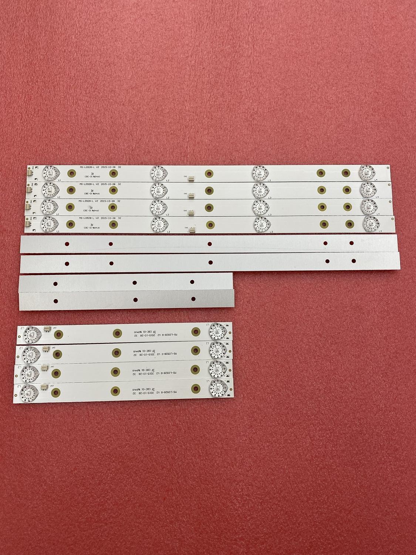New 10set=40pcs LED Backlight Strip for akai AKTV3221 32LED38P  JS-D-JP3220-041EC E32F2000 D32-0A35 MS-L0928-L R V2 HV320WHB-N80