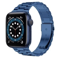 for apple watch 6 band 44mm 40mm series 5 se ultra thin narrow stainless steel bands for iwatch strap 3 42mm 38mm link bracelet