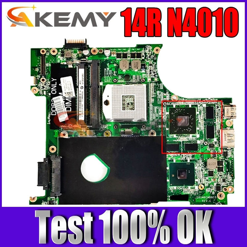 N4010 اللوحة لديل انسبايرون 14R N4010 CN-0951K7 0951K7 اللوحة DAUM8CMB8C0 CN-0M2TVP 0M2TVP HM57 100% اختبار بالكامل