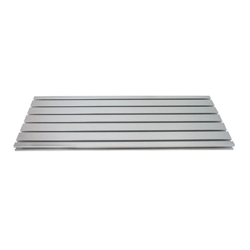 Aluminium Platte Maschinen Teile T Slot Aluminium Profile Extrusion Rahmen Für CNC 3D Drucker Laser Steht Furniturepc