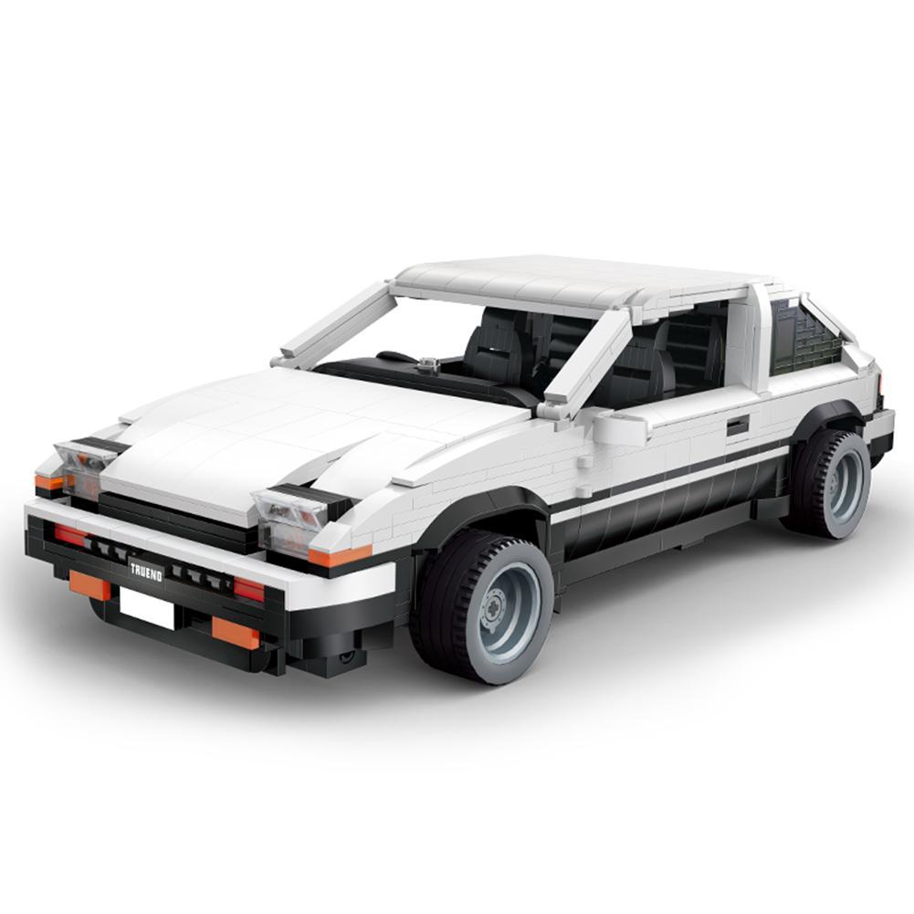 Juguete de bloques de construcción para niños, bloques de construcción de automóviles, Kit de ladrillos DIY, modelo de vehículo para AE86