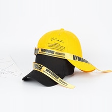 New Long Band Letter Printed Baseball Caps For Women And Men Adjustable Unisex Snapback Cap Fashion