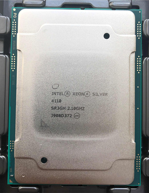XEON Zilver 4110 2.10 GHz 8-Core 11 MB L3 Silver4110 DDR4-2400 FCLGA3647 TDP 85 W