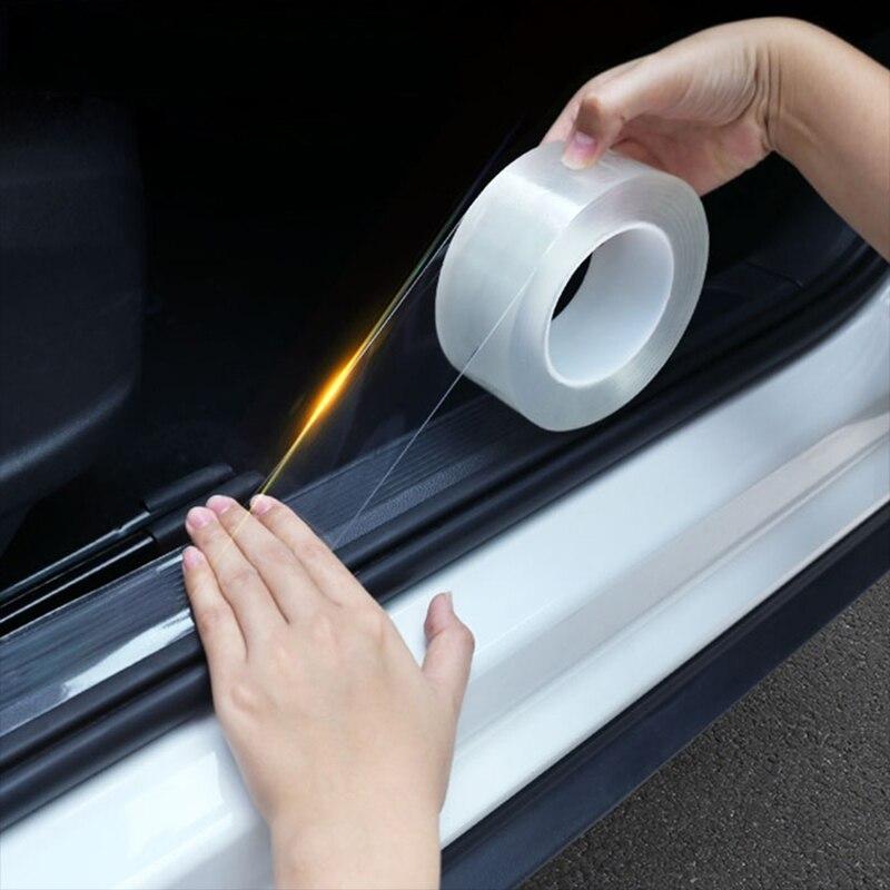 Автомобильный Стайлинг, прозрачный протектор порога автомобиля, наклейка для Opel Astra H G J Insignia Mokka Zafira Corsa Vectra C D