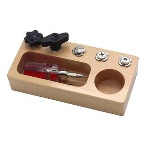 Montessori Screw Driver Board Sets-Preschool Learning Toys- Kids Montessori
