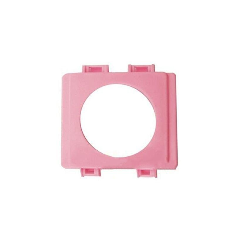Jaula de hámster pequeño accesorios de tubería externa deflector de boca hámster de juguete jaulas túnel puerto exterior placa