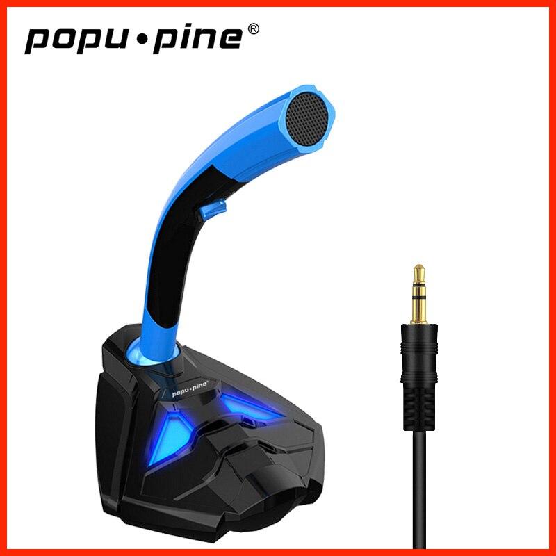 Mini micrófono de 3,5mm para ordenador de videojuegos, con soporte para teléfono,...