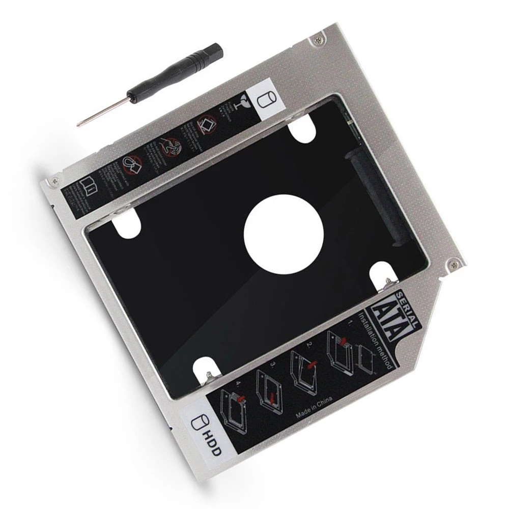 12 7mm 2nd Festplatte SSD HDD Caddy fur DELL Inspiron 15R SE 7520 N5010 N5110 M5010