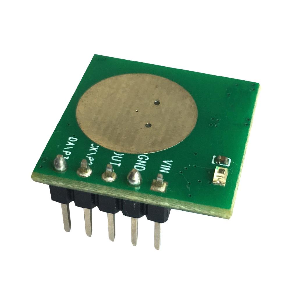 taidacent 5 pcs small 5 8g radar sensor doppler radar module radar motion detector for human moving adjustable sensing range Taidacent Low Power 5.8G Proximity Microwave Doppler Radar Sensor Infrared Microwave Sensor for Human Detection MG58520