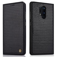 cover genuine leather flip case for oneplus 8 8 pro cover magnetic case for oneplus 8 pro 5g case leather cover phone cases
