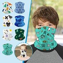 Multipurpose Neck Gaiter Warm Elastic Face Mask for Children Sport Scarf Face Mask Unisex Fashion Pr