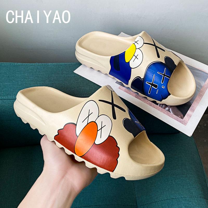 Four Season Girls Boys Baby Slippers Mini Beach Designer Fur Slides Sandal Flat Pool Water Shoes EVA