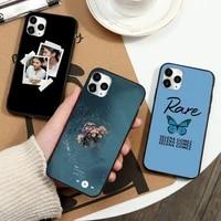 selena gomez rare singer actor phone case for iphone 12 11 13 7 8 6 s plus x xs xr pro max mini