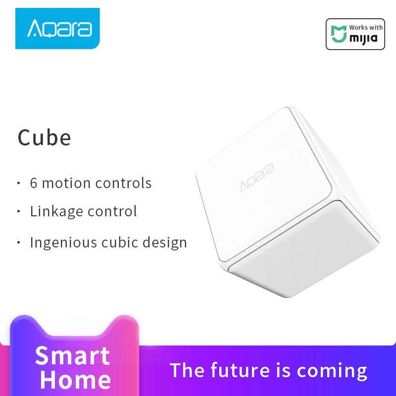 Original Aqara Mijia Magie Controller Zigbee Version Gesteuert durch Sechs Aktionen Smart Home Gerät Für Xiaomi mi hause APP