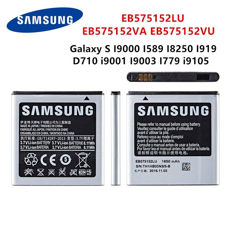 SAMSUNG original EB575152LU EB575152VA/VU de la batería 1650mAh para Samsung Galaxy S...