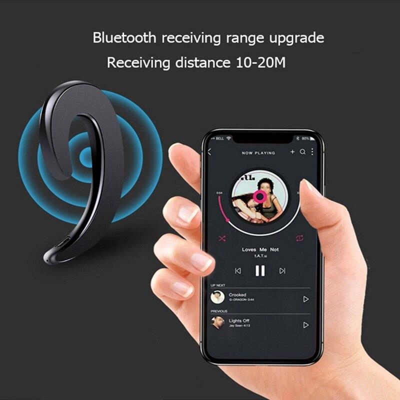 Bluetooth 4.2 Stereo Earphones Bone Conduction Headset Wireless Sports Headphone Driving Earpiece earbuds earphone with Mic enlarge