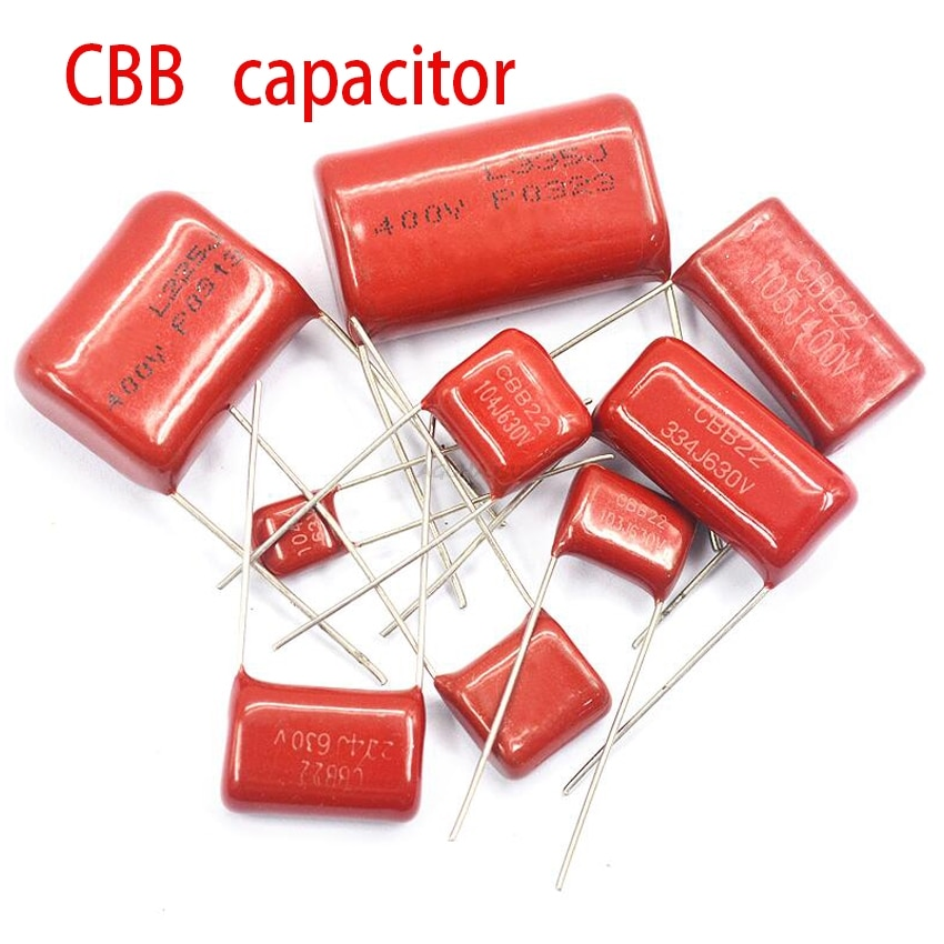 10PCS 1500V104J 630V684J 250V475J 250V475J 630V224J 400V684J 63V105J 630V104J 400V105J CBB filme de Polipropileno capacitor Capacitores    -
