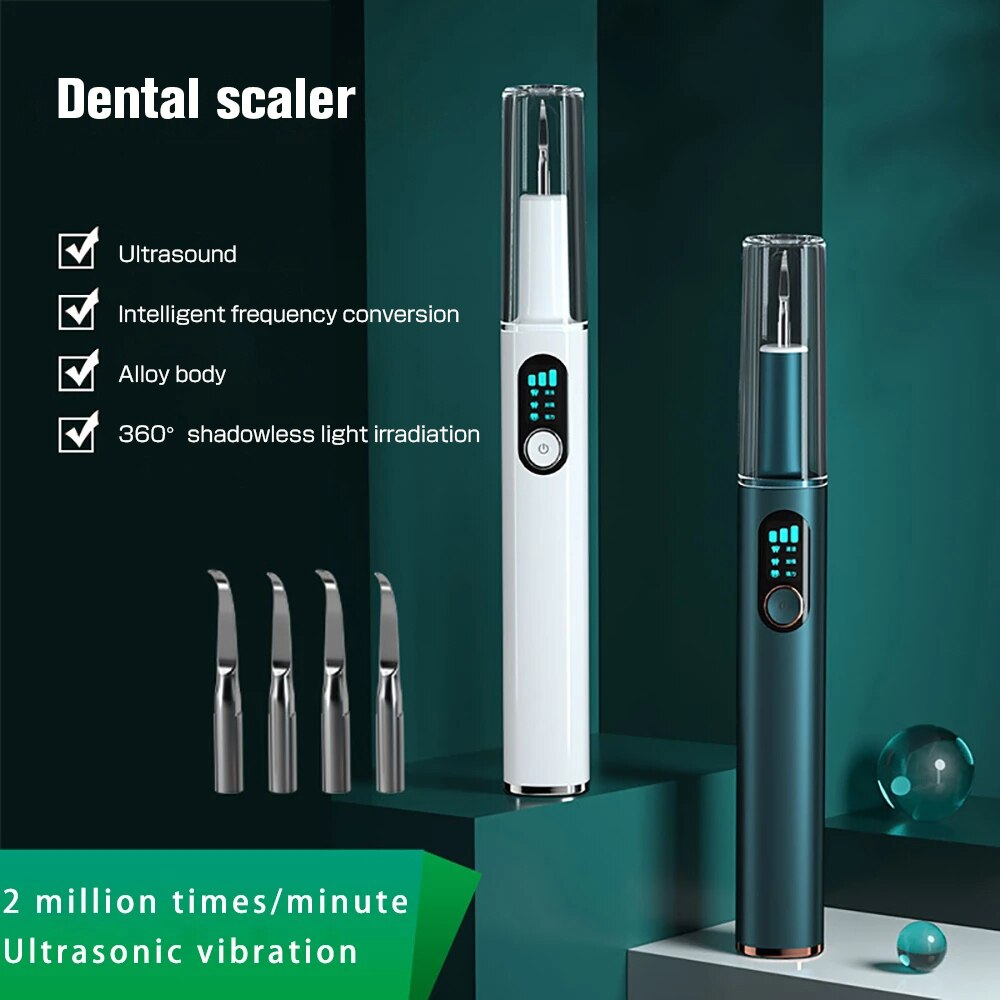 Smart Home Ultrasonic Calculus Remover Dental Scaling Electric Portable Scaler Sonic Smoke Stains Tartar Plaque Teeth White ultrasonic calculus remover electric portable dental scaler ultrasonic tooth cleaner tartar plaque teeth whitening scaling tools