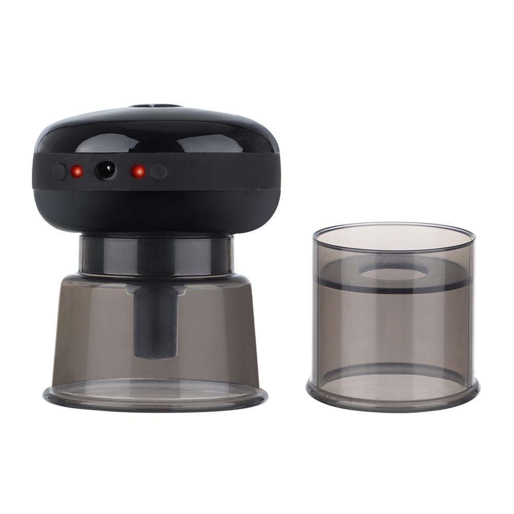 جهاز تدليك الحجامة الكهربائي الصغير القابل لإعادة الشحن جهاز تدليك بالضغط السلبي لتخفيف التعب البدني تبديد الرطوبة